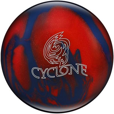 Bowlingball Reaktiv EBONITE Cyclone Blue/Red/Sparkle