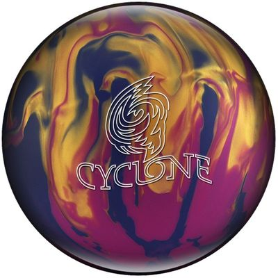 Bowlingball Reaktiv EBONITE Cyclone Violet/Gold/Blue – Bild 1