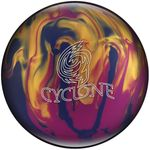 Bowlingball Reaktiv EBONITE Cyclone Violet/Gold/Blue 001
