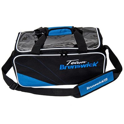 Bowlingtasche Brunswick TEAM Double Tote BlackKobalt