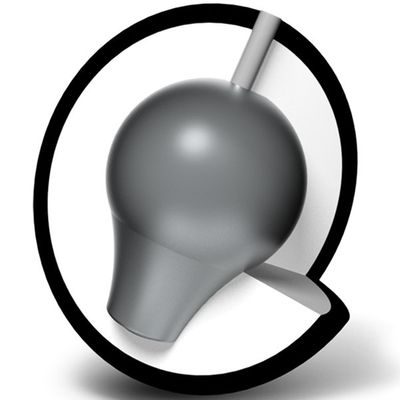 Bowlingball Brunswick Rhino  Black Pearl – Bild 2