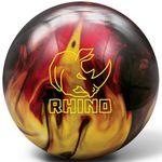 Bowlingball Brunswick Rhino Red/Black/Gold Pearl 001