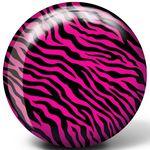 Bowlingball BRUNSWICK Viz-a-Ball Pink Zebra 001