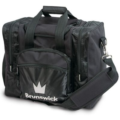 Bowlingtasche BRUNSWICK Edge Single Tote Black – Bild 1