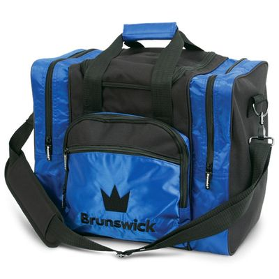 Bowlingtasche BRUNSWICK Edge Single Tote Blau – Bild 1