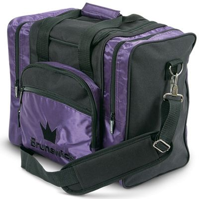 Bowlingtasche BRUNSWICK Edge Single Tote Purple – Bild 1