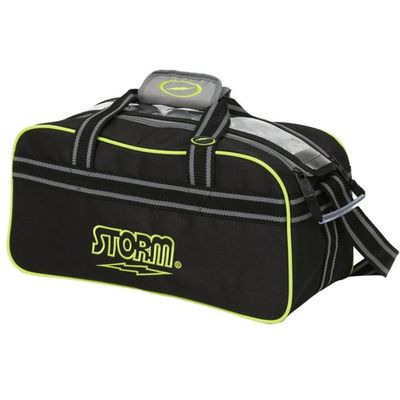 Bowlingtasche Storm 2-Ball Tote BlackGreyLime