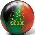 Bowlingball Brunswick Rhino Black/Green/Orange 001