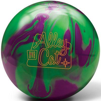 Bowlingball DV 8  Alley Cat Purple/Green – Bild 1