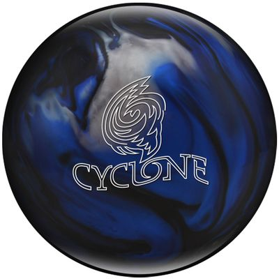 Bowlingball Reaktiv EBONITE Cyclone BlackBlueSilver – Bild 1