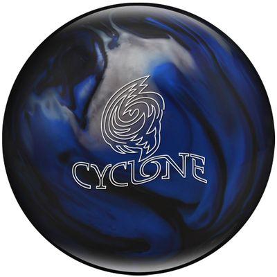 Bowlingball Reaktiv EBONITE Cyclone BlackBlueSilver – Bild 1