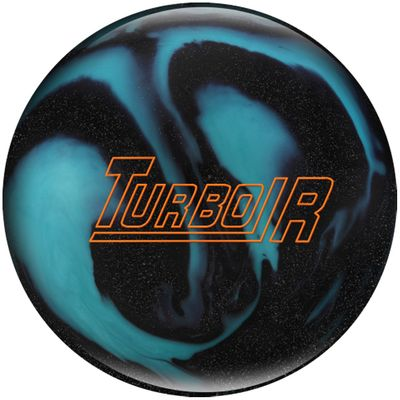 Bowlingball Reaktiv EBONITE Turbo R BlackSparkleAqua