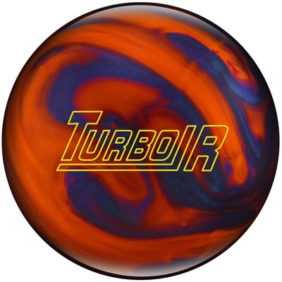 Bowlingball Reaktiv EBONITE Turbo R OrangeBluePearl – Bild 1