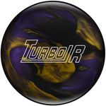 Bowlingball Reaktiv EBONITE Turbo R BlackPurpleGold 001