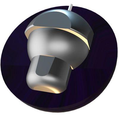 Bowlingball Reaktiv Hammer Purple Pearl Urethane – Bild 3