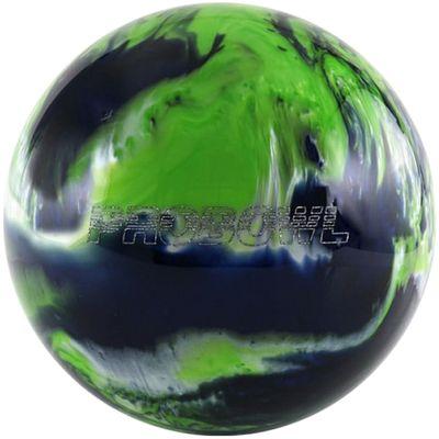 Bowlingball Pro Bowl GrünSchwarzSilber