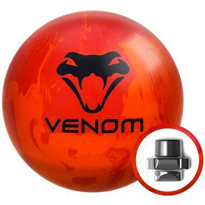Bowlingball Reaktiv Motiv Venom  Recoil – Bild 3