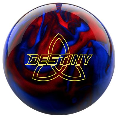 Bowlingball Reaktiv EBONITE Destiny Pearl BlackRedBlue – Bild 1