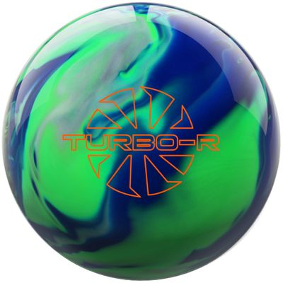 Bowlingball Reaktiv EBONITE Turbo R BlueGreenSilver