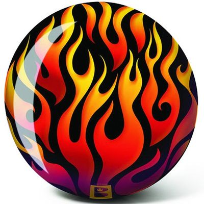 Bowlingball BRUNSWICK Viz-a-Ball Flame