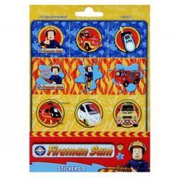 Stickerbogen mit 12 Stickern | Feuerwehrmann Sam | Aufkleber & Dekoration 001