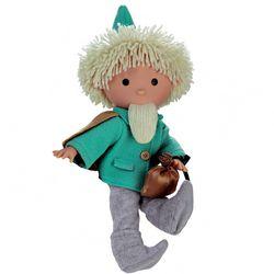 Sandmännchen Puppe grün | Sandmann | 39 cm | Plüschfiguren | mit Sound 39 cm