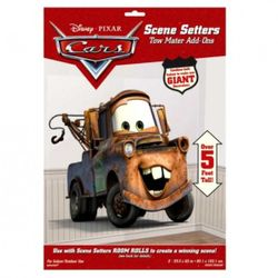 Foliendekoration Hook | 162 x 67 cm | Disney Cars | Zimmerdekoration 001
