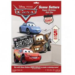 Disney Cars - Foliendekoration Sally, Hook & McQueen