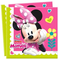 Servietten Mouse | 20 Stück | Disney Minnie Maus | Party Kinder Geburtstag