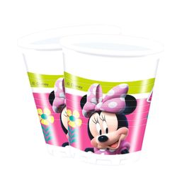 Party-Becher Mouse | 8 Stück | Disney Minnie Maus | Kinder Geburtstag