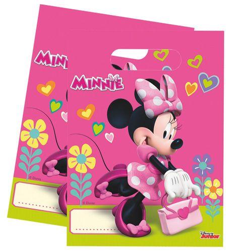 Geschenktüten Mouse | 6 Beutel | Minnie Maus | Kinder Geburtstag | Party-Tüten