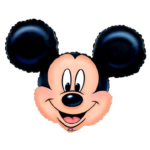 XL Folien Ballon Mickey Mouse | 69 x 53 cm | Disney Micky Maus | Luftballon