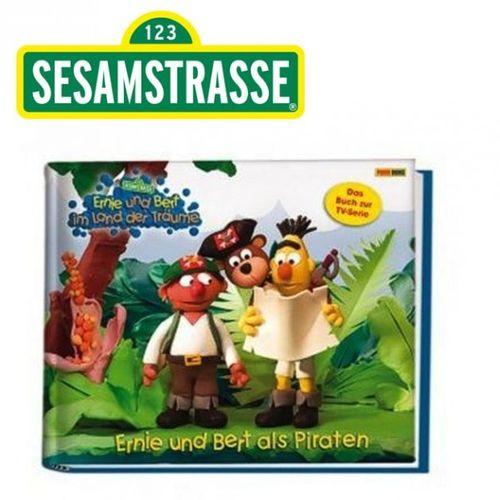 Ernie und Bert als Piraten | Sesamstrasse | Geschichten- Buch