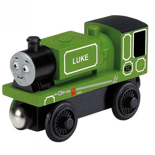 Luke | Lokomotive | Mattel Y4087 | Holzeisenbahn | Thomas & seine Freunde