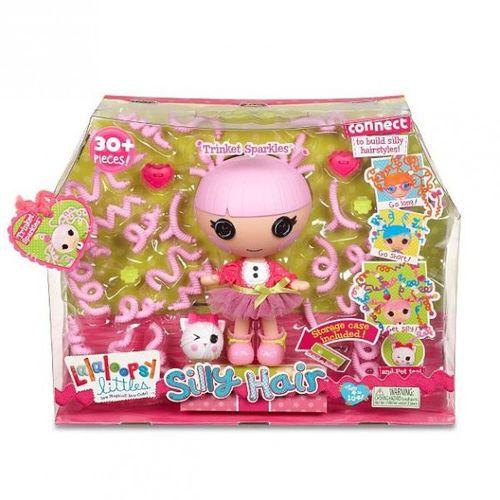 Trinket Sparkles | 20cm | Lalaloopsy Littles | Haar Puppe – Bild 2