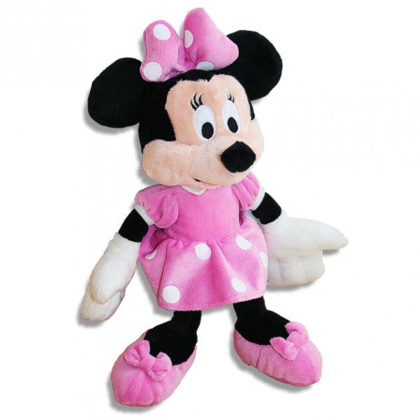 minnie maus disney pl sch figur 28cm minnie mouse micky. Black Bedroom Furniture Sets. Home Design Ideas