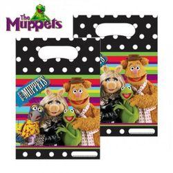 Geschenktüten | 6 Beutel | Die Muppets | Kinder Geburtstag | Party-Tüten