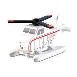 Harold | Helikopter | Mattel Y4077 | Holzeisenbahn | Thomas & seine Freunde 001