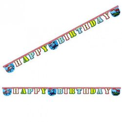 Glückwunsch Kette | Banner 2,00 m | Disney Planes | Kinder Party Geburtstag 001