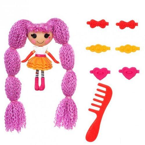Peanut Big Top | 7cm | Lalaloopsy | Haar Puppe | Mini Welt Spiel Set – Bild 1
