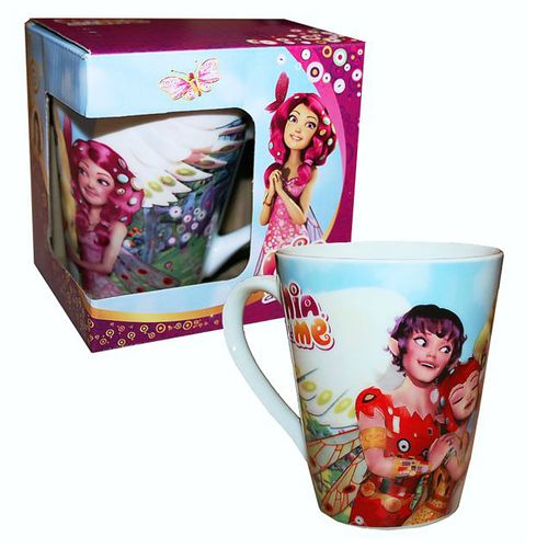 Keramik Tasse | Mia and me | 250 ml | Henkel-Becher in Geschenkbox
