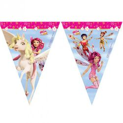 Wimpel-Kette | Girlande Banner 2,30 m | Mia and me | Kinder Party Geburtstag 001