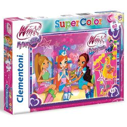 Puzzle | 60 Teile | Winx Club | Lege-Spiel Super Color | My Fairy Friend 001