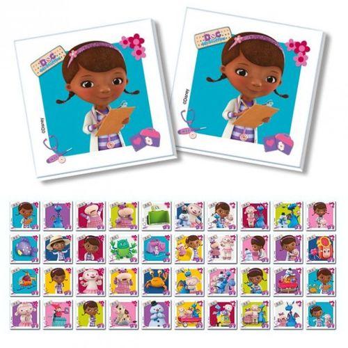Memo Spiel Junior | 80 Bildkarten | Doc McStuffins Kinderärztin | Clementoni  – Bild 2