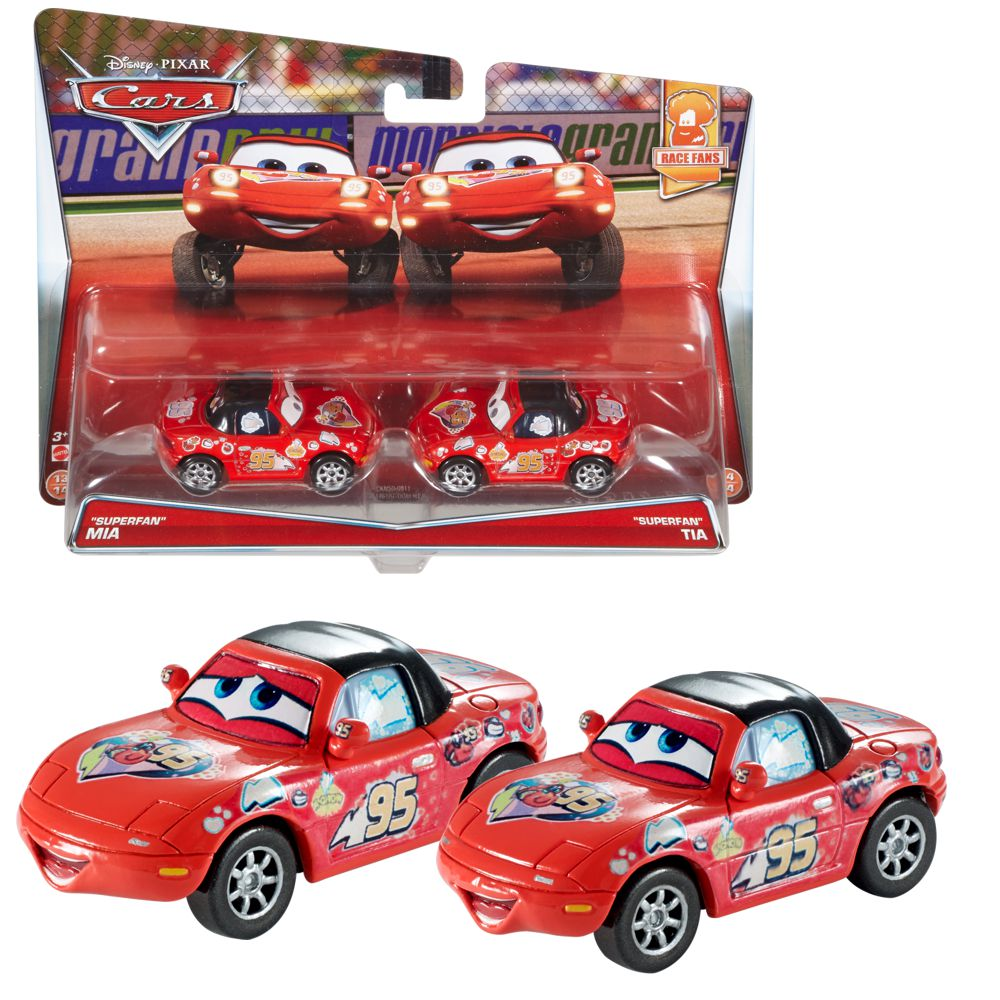 doppelpack modelle auswahl disney cars cast 1 55. Black Bedroom Furniture Sets. Home Design Ideas