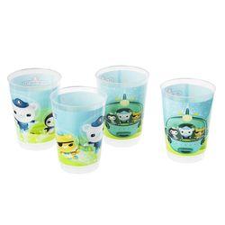 4-er Set Kinder Trink-Becher | Die Oktonauten | Mehrwegbecher 200ml 001