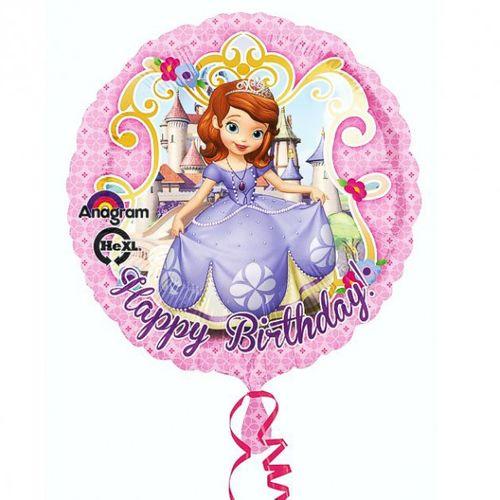 Princess Rosa | Folien Ballon 43 cm | Sofia die Erste | Kinder Party Geburtstag
