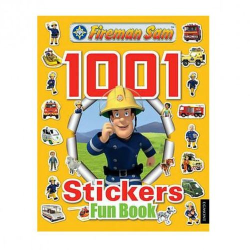1001 Sticker Fun & Activity Buch   Feuerwehrmann Sam   Stickerheft   englisch