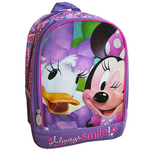 Minnie Maus & Daisy Duck | Kinder Rucksack | 33 x 28 x 13 cm | Minnie Mouse – Bild 1