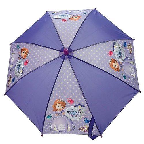 Disney Princess - Sofia die Erste - Kinder Regenschirm Stockschirm lila